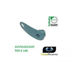 *VORWERK FOLLETTO * VK140 AVVOLGICAVO SUPERIORE- ORIGINALE - 30831 RICAMBI