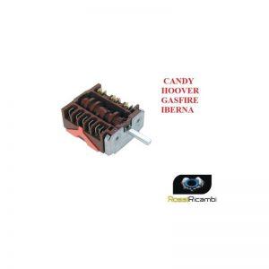 CANDY HOOVER IBERNA*COMMUTATORE FORNO SELETTORE 4+0 RICAMBIO ORIGINALE 41003026