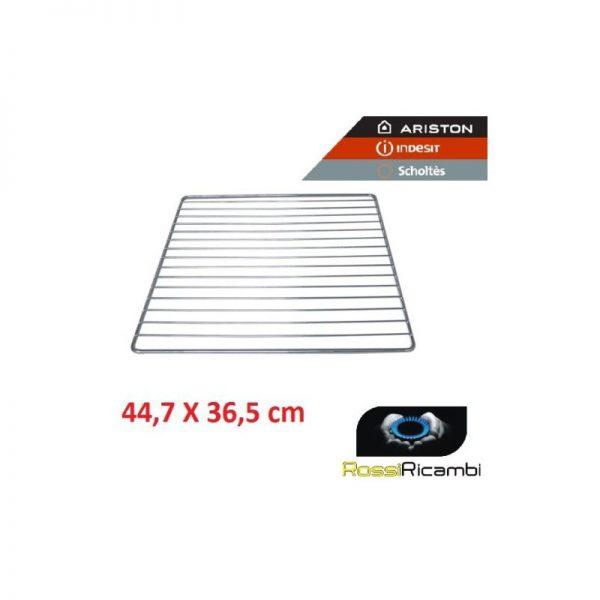 ARISTON INDESIT - GRIGLIA FORNO CROMATA 447x365 mm ORIGINALE - C00081578
