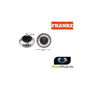 FRANKE - TAPPO FILTRO LAVELLO -ORIGINALE-1920056 - 83 mm DIAMETRO 53 mm ALTEZZA