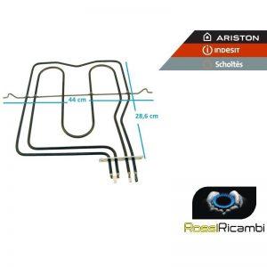 ARISTON INDESIT -RESISTENZA FORNO ELETTRICO GRILL SUPERIORE 1500 W - C00039574
