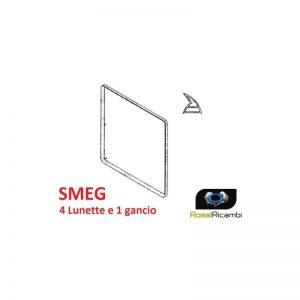 SMEG - GUARNIZIONE PER PORTA FORNO DA 60 cm CUCINA 5 GANCI - 1460 mm -754130519