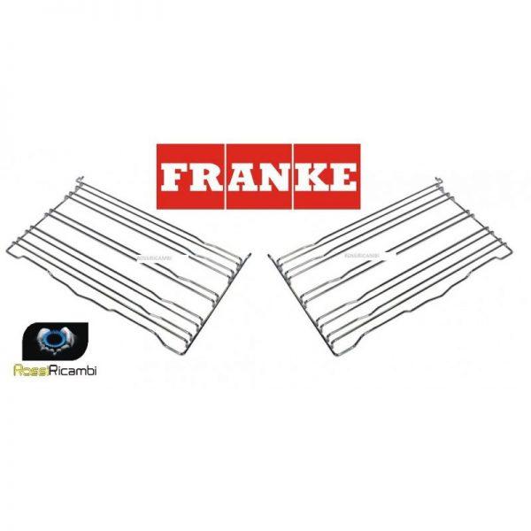 FRANKE COPPIA TELAI PER GUIDE GRIGLIE FORNO RICAMBIO ORIGINALE 1992016/19