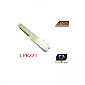 ARISTON INDESIT- COPPIA CERNIERE PORTA FORNO SPORTELLO MOLLE-ORIGINALE C00087164