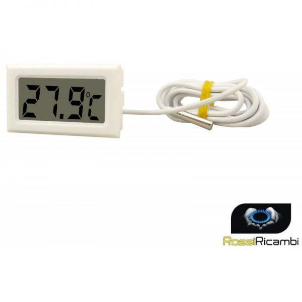 TERMOMETRO DIGITALE PER FRIGO - FRIGORIFERO O AMBIENTE CON SONDA -50 +70 C°