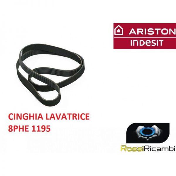 ARISTON INDESIT - CINGHIA LAVATRICE 8PHE 1195 - ORIGINALE - C00082318