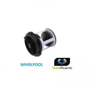 WHIRLPOOL -FILTRO TAPPO POMPA LAVATRICE - 481948058106 PER AWG - WT - WA - AWB