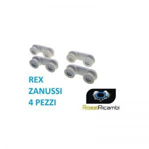 ELECTROLUX ZANUSSI RUOTE SUPPORTO LAVASTOVIGLIE SCORRIMENTO CESTELLO 50269972001