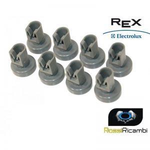 REX ELECTROLUX -KIT RUOTE LAVASTOVIGLIE CESTELLO SUPERIORE ORIGINALE 50269970005