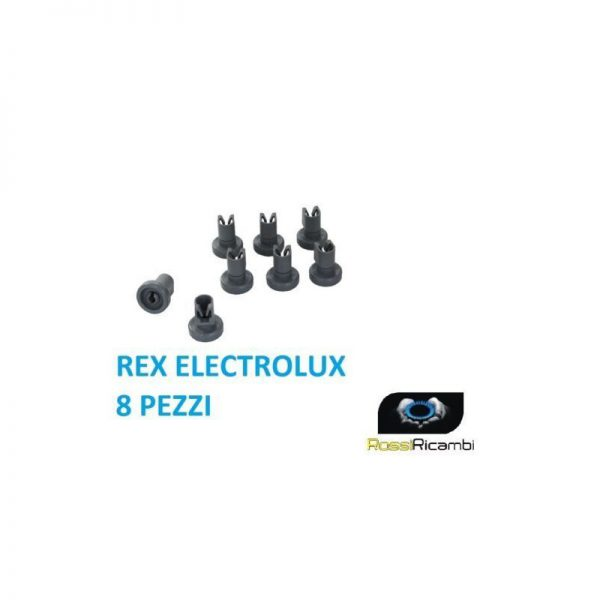 REX ELECTROLUX - KIT RUOTE LAVASTOVIGLIE CESTELLO SUPERIORE 8 PZ - 50286967000
