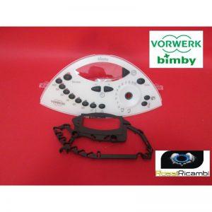 VORWERK BIMBY NUOVA MASCHERINA FRONTALE TM31-ORIGINALE-30230 EX CODICE 32004