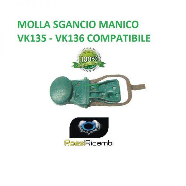 VORWERK FOLLETTO VK135-VK136 PULSANTE MOLLA SGANCIO MANICO COMPATIBILE