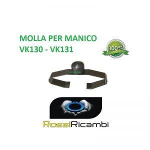 VORWERK FOLLETTO VK 130 - VK 131 PULSANTE MOLLA SGANCIO MANICO COMPATIBILE