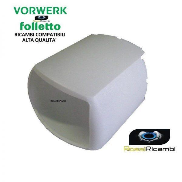 VORWERK FOLLETTO VK121-VK122 CALOTTA DI RIVESTIMENTO GRUPPO MOTORE COMPATIBILE