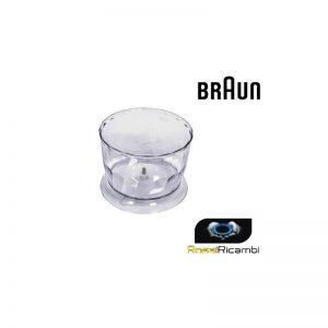 BRAUN - CONTENITORE CARAFFA 500 ML MULTIQUICK ,MINIPIMER - BR67050142 ORIGINALE
