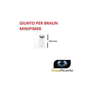 BRAUN - GIUNTO X ROBOT FRULLATORE IMMERSIONE MULTIQUICK 5/7, MINIPIMER BR67050811