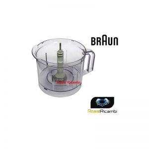 BRAUN - CARAFFA CONTENITORE K1000 MULTIQUICK 7 MULTISYSTEM + PERNO BR63210652