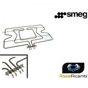 SMEG -RESISTENZA FORNO SUPERIORE CIELO + GRILL -806890864 - 806890808 ORIGINALE