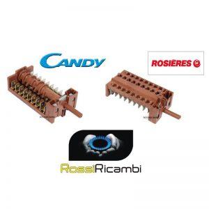 CANDY ROSIERES COMMUTATORE FORNO ORIGINALE - 91201719 - 8 POSIZIONI
