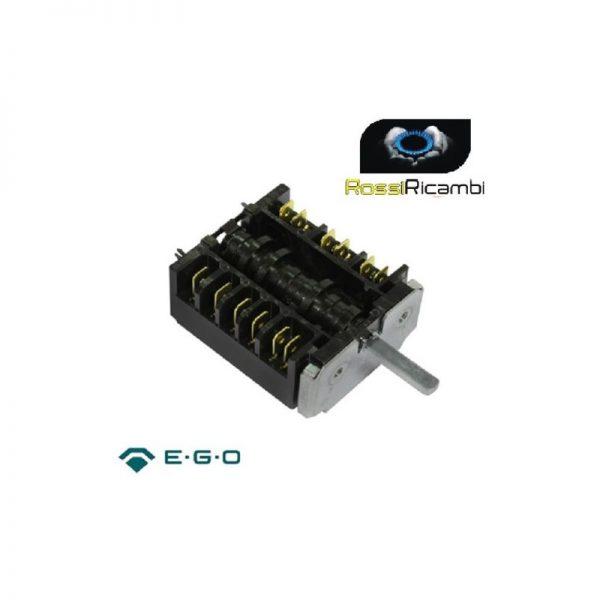 ARCELIK BEKO - COMMUTATORE FORNO POSIZIONI 5 + 0 RICAMBIO ORIGINALE 163100004