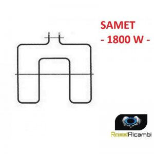 SAMET -RESISTENZA FORNO ELETTRICO INFERIORE 1800 W - 40 X 38 CM