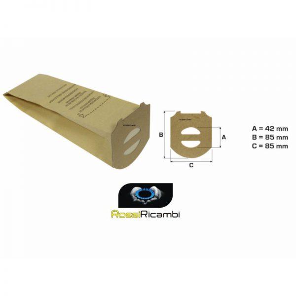 ROWENTA - SACCHETTI ASPIRAPOLVERE SCOPA ELETTRICA SLIM LINE RH600-RH601-RH611