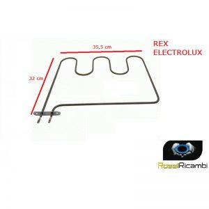 REX ZANUSSI ELECTROLUX -RESISTENZA INFERIORE FORNO 1000 w- 3570038061