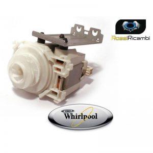WHIRLPOOL -ELETTROPOMPA MOTORE LAVASTOVIGLIE 480140102395 ORIGINALE -CPO45-009PE