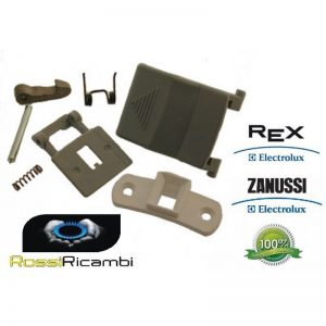 REX ELECTROLUX ZANUSSI KIT MANIGLIA OBLO LAVATRICE EQUIVALENTE 500680844003
