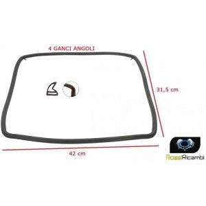NARDI -GUARNIZIONE PORTA FORNO 4 LATI 4 GANCI 42 X 31,5 cm 090118009916R