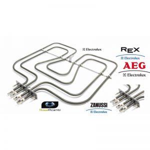 AEG ELECTROLUX REX ZANUSSI RESISTENZA FORNO 800+1650 W - 357077002 - 3970129015