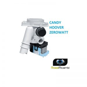 CANDY HOOVER - POMPA SCARICO LAVATRICE MAGNETICA - 49002228, 91941771, 41005956