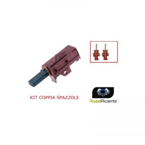 CANDY HOOVER - COPPIA SPAZZOLE CARBONCINI MOTORE LAVATRICE 49000466 49028931