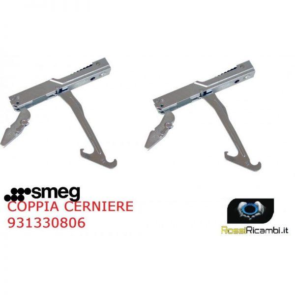 SMEG - COPPIA CERNIERE MOLLE PORTA FORNO MAXI - 931330806- 931330656 - DO10PSS