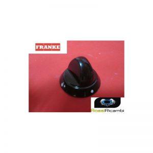 FRANKE MANOPOLA PIANO COTTURA FORO mm.6 NERA RICAMBIO ORIGINALE-1981713