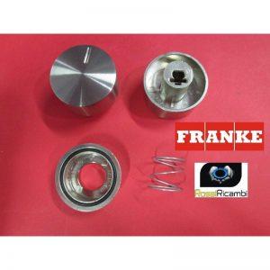 FRANKE MANOPOLA PIANO COTTURA MOD.FHNE FORO mm.6 ARGENTO ORIGINALE 133.0312.533