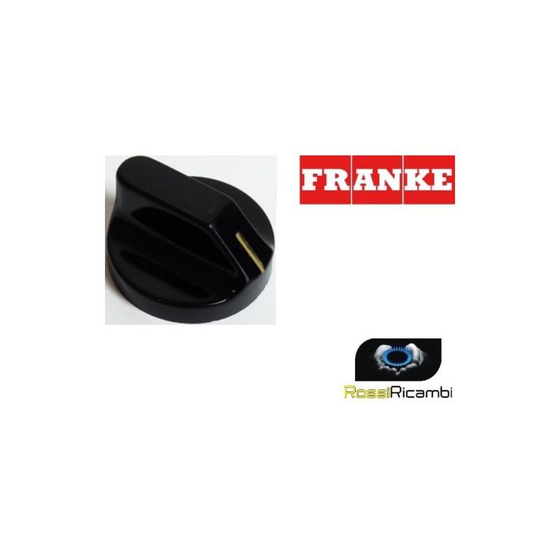 FRANKE - MANOPOLA PIANO COTTURA CUCINA NERA - ORIGINALE- 1980323