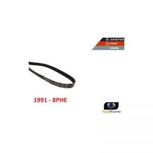 ARISTON HOTPOINT INDESIT- CINGHIA 1991 H8 ASCIUGATRICE - ORIGINALE - C00300793