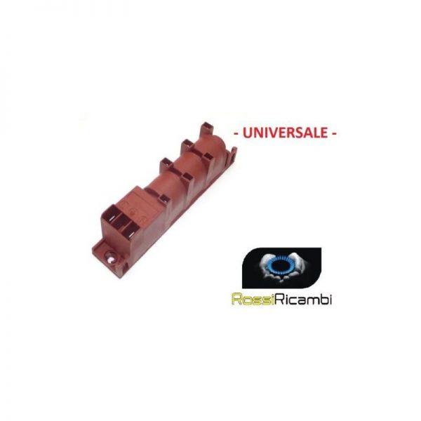 UNIVERSALE - GENERATORE ACCENSIONE PER 6 FORNELLI CUCINA GAS PIEZO - 2 ENTRATE