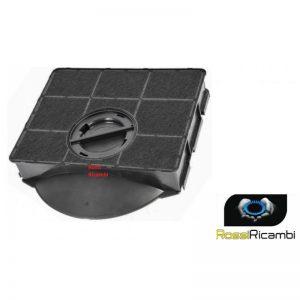 WHIRLPOOL FILTRO CAPPA CARBONI ATTIVI MODELLO 303 - 390 GR - 205 X 215 X 43mm