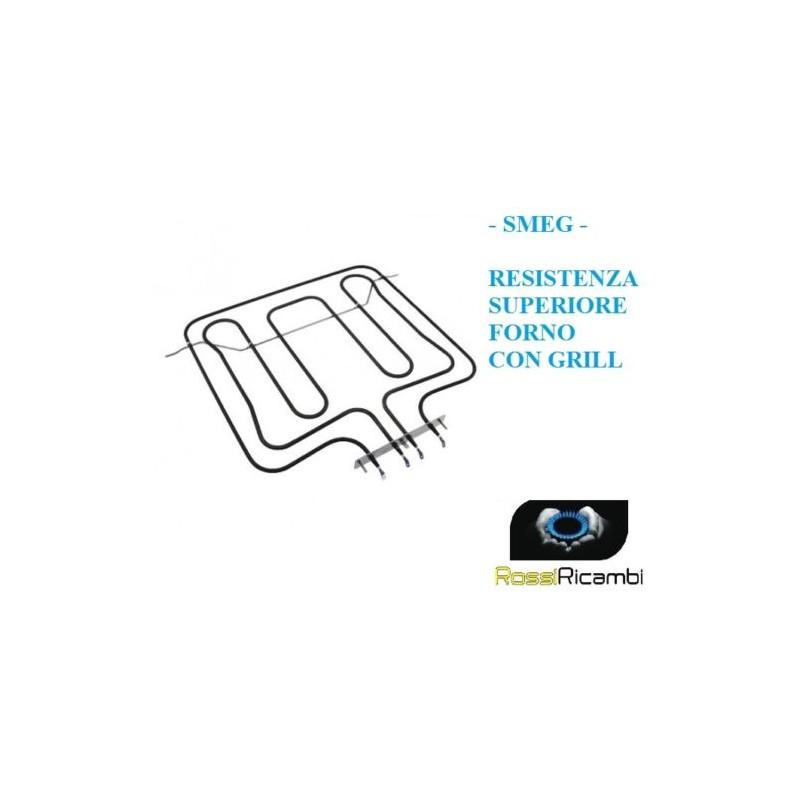 806890262 806890278 RESISTENZA FORNO SMEG SUPERIORE  GRILL SA390EB