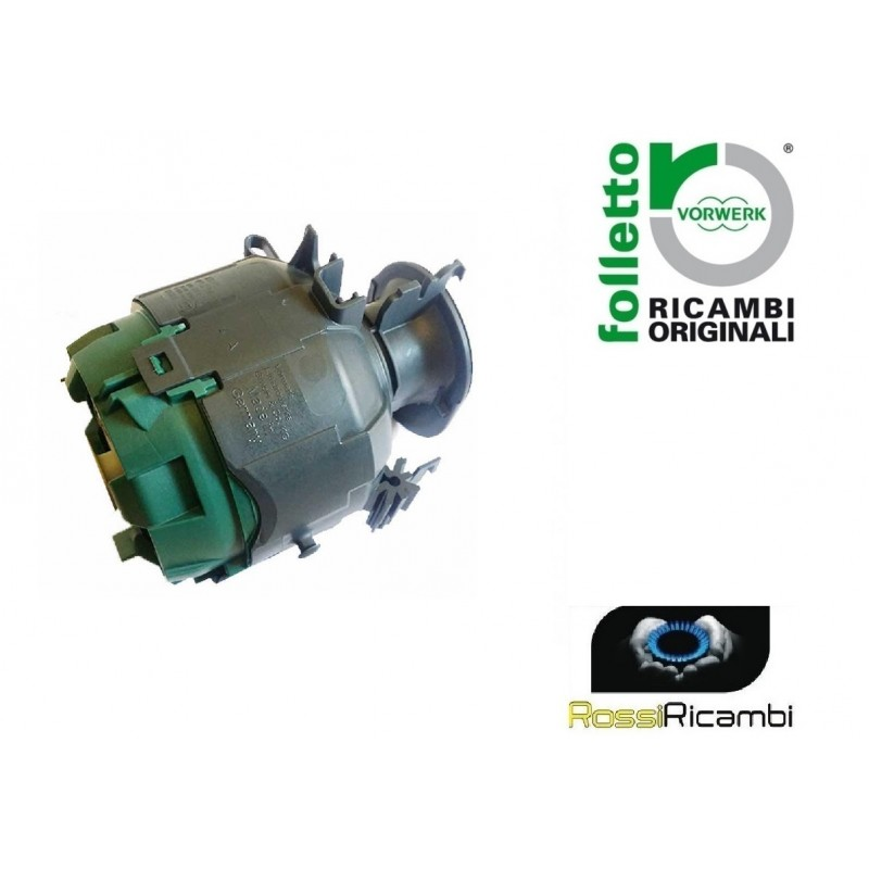 Motore Folletto Vk 150.Vorwerk Folletto Motore Per Vk 140 Vk 150 Originale Rossi Ricambi