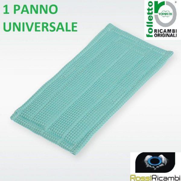 VORWERK FOLLETTO PANNO PULILAVA MF 520 SOFT PULIZIA UNIVERSALE 1 PANNO