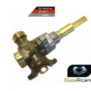 ARISTON INDESIT RUBINETTO GAS - PIANO COTTURA CUCINA C00075068 - ORIGINALE