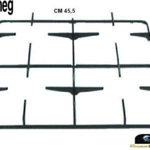 SMEG WESTINGHOUSE GRIGLIA CUCINA SMALTATA NERA 4 FUOCHI CM 46 X 45 P5360