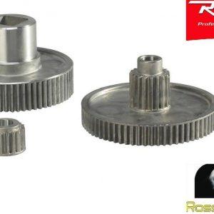 REBER Kit Ingranaggi Ferro Pignone Motore Passapomodoro 9603N 1020SER Originale