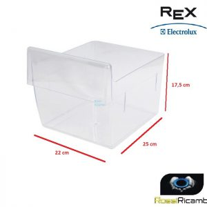 CASSETTO VERDURA FRIGO REX ZANUSSI ELECTROLUX IKEA PROGRESS ORIGINALE 2247074202