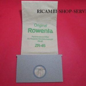 ROWENTA - 8 SACCHETTI ASPIRAPOLVERE RH45 - RH455/465