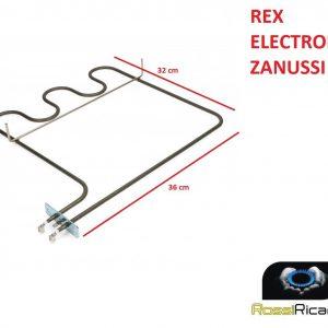 RESISTENZA FORNO REX ELECTROLUX ZANUSSI CASTOR INFERIORE - 1200 W - 3570076038