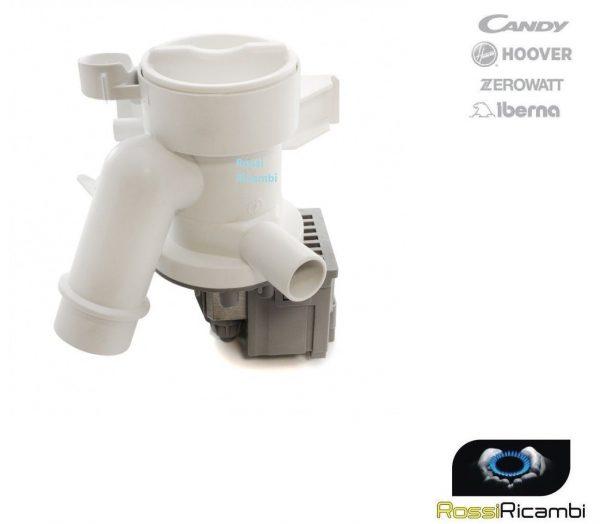 POMPA SCARICO LAVATRICE CANDY HOOVER ZEROWATT M253 MOTORINO 41018403 - ORIGINALE